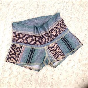 Teeki Yoga Border Towns Sun Shorts